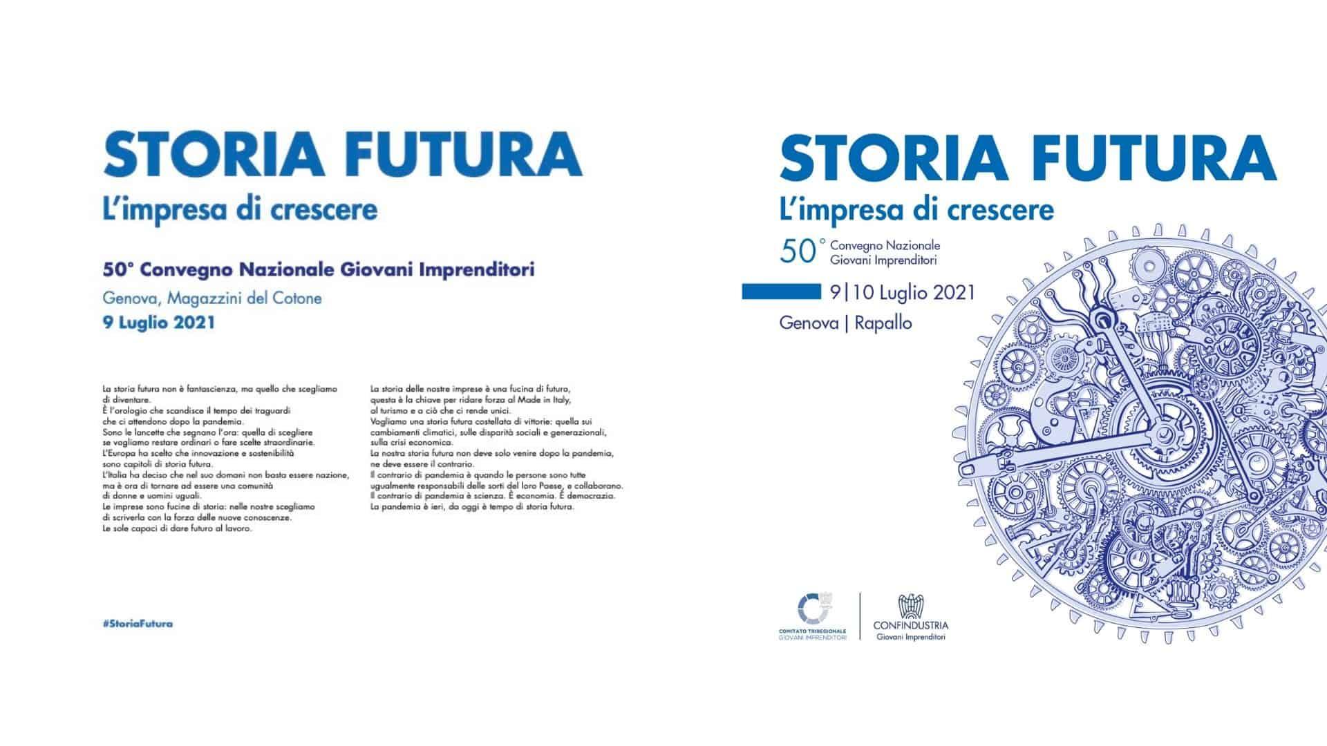 Storia futura 50 convegno Giovani IMmprenditori